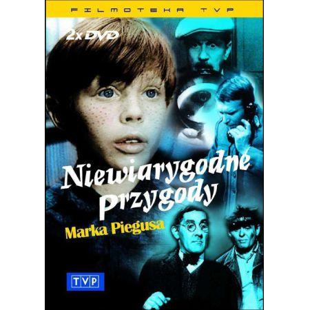 Niewiarygodne przygody Marka Piegusa DVD