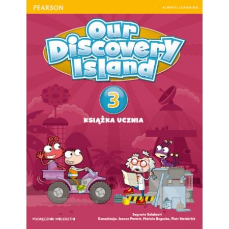 Our Discovery Island 3 SB + CD PEARSON wieloletni