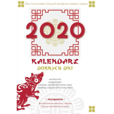 Kalendarz dobrych dni 2020
