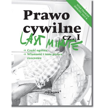 Last Minute Prawo cywilne cz.I