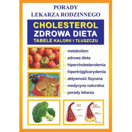 Cholesterol. Zdrowa dieta. Tabele kalorii i tłuszczu