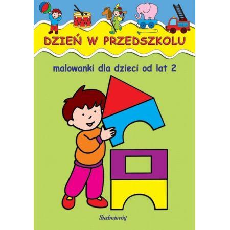 Malowanki -  Dzień w przedszkolu SIEDMIORÓG