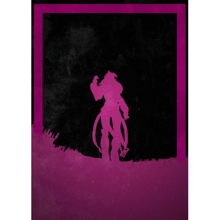 Dusk of Villains - Queen Myrrah, Gears of War - plakat