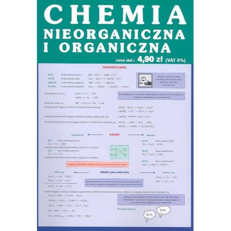 Chemia nieorganiczna i organiczna