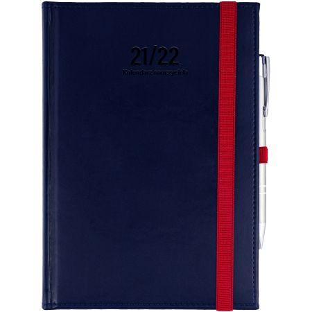 Kalendarz nauczyciela A5 2021/2022 tyg. granatowy