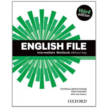 English File 3E Intermediate WB without key OXFORD