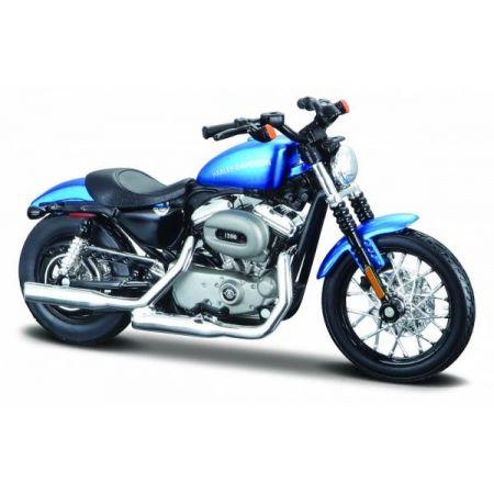 MI 39360-68 Motor HD 2012XL1200N Nightster niebieski 1:18
