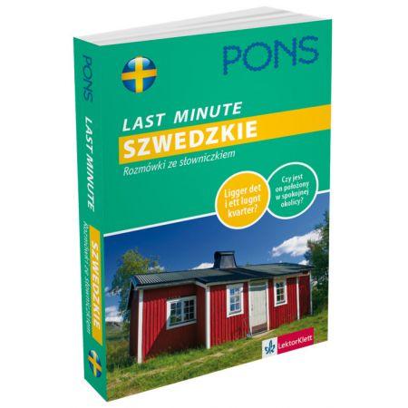 Last Minute - Szwedzkie. Rozmówki ze słowniczkiem