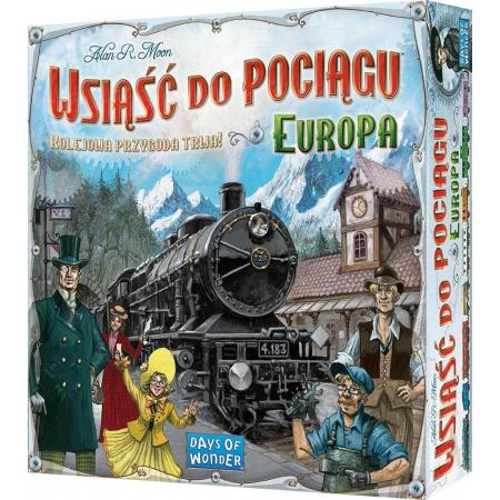 Wsiąść do pociągu. Europa