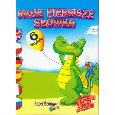My First English Words Moje pierwsze słówka angielskie Program multimedialny