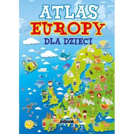 Atlas Europy Dla Dzieci FENIX