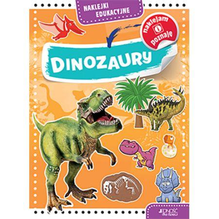 Dinozaury naklejki edukacyjne
