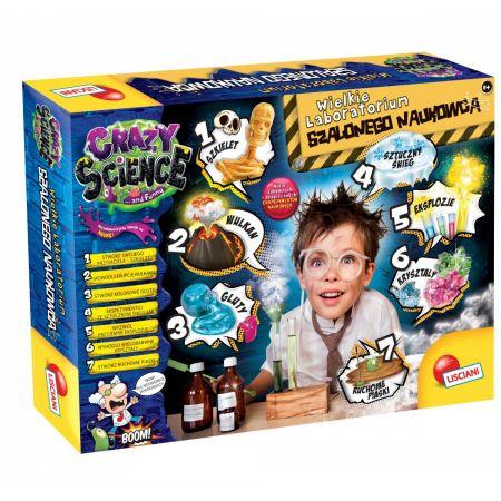 Crazy Science. Wielkie laboratorium szalonego naukowca