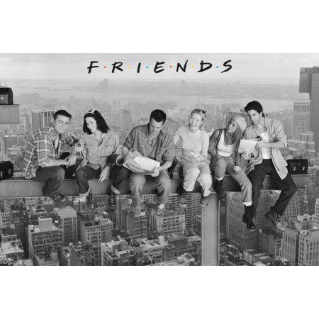 Friends Przyjaciele Nowy Jork Robotnicy - plakat