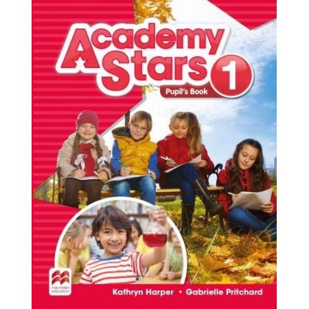 Academy Stars 1 PB + kod online MACMILLAN
