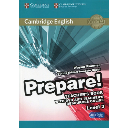 Prepare! 3 Teacher's Book with DVD and Teacher's Resources Online