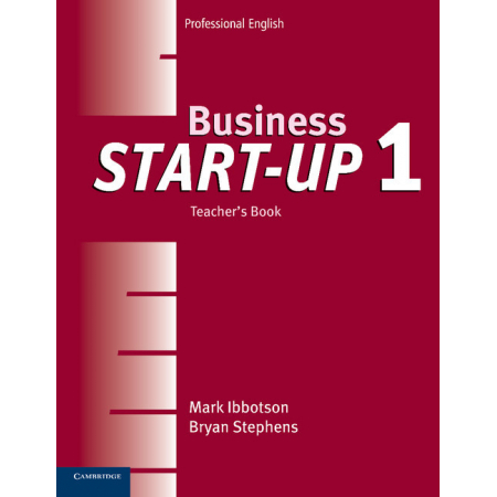 Business Start-Up 1 Teacher's Book
