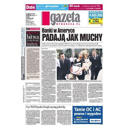 Gazeta Wyborcza - Białystok 217/2008