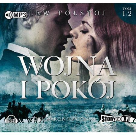 CD MP3 Pakiet wojna i pokój Tom 1-2