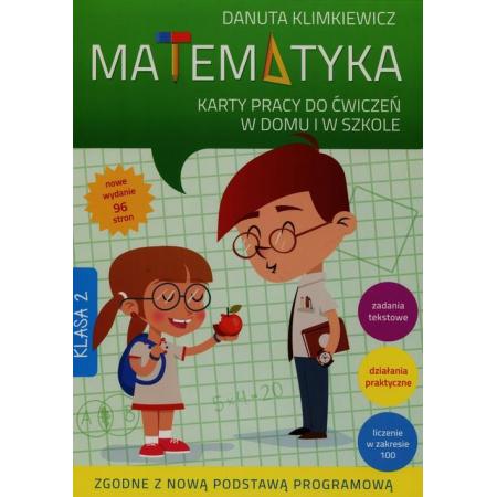 Matematyka kl.2 KP do ćw. w domu i w szkole