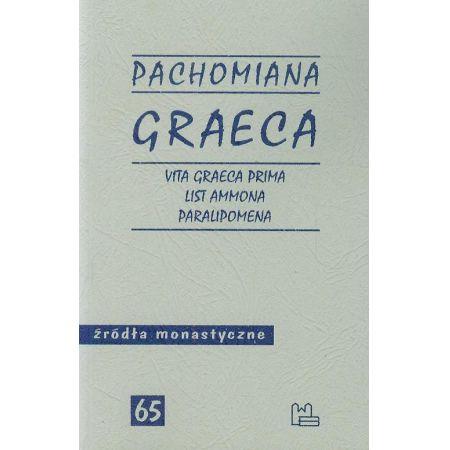 Pachomiana Graeca Vita Graeca Prima List Ammona Paralipomena 65