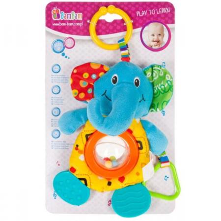 Grzechotka przywieszka słoń BAM BAM