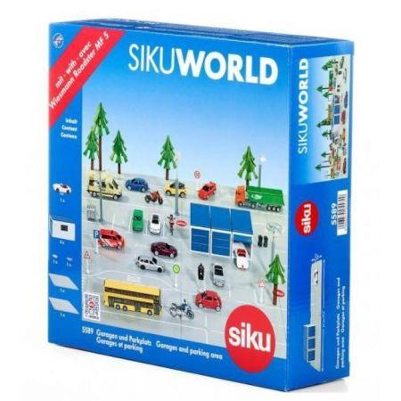 Siku World Zestaw Parking Garaż I Samochód S5589 W Taniaksiazkapl