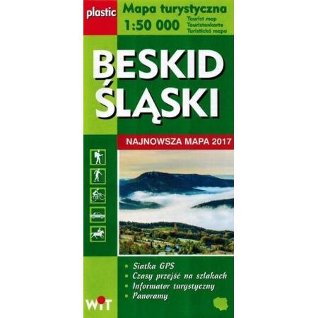Mapa turystyczna Beskid Śląski 1:50 000 WIT