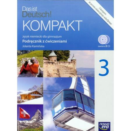 Das ist Deutsch! Kompakt 3 Podręcznik z ćwiczeniami + 2CD