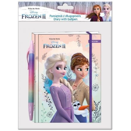 Pamiętnik z długopisem Frozen II