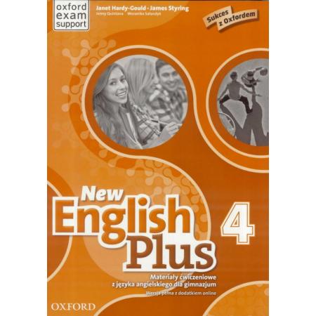 English Plus New 4 materiały ćwicz. w.pełna OXFORD