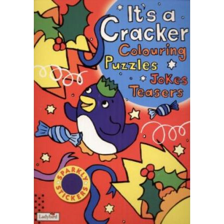 It`s cracker. Colouring. Puzzles. Jokes. Teasers