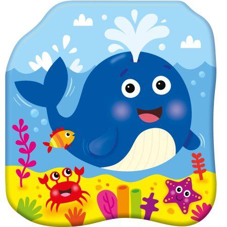 Książeczki kąpielowe. Radosny wieloryb