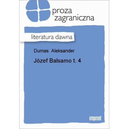 Józef Balsamo, t. 4