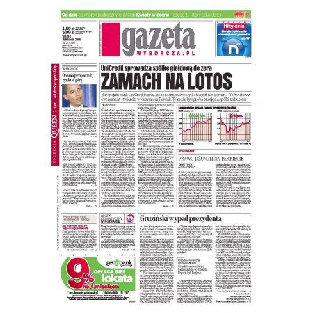 Gazeta Wyborcza - Płock 275/2008