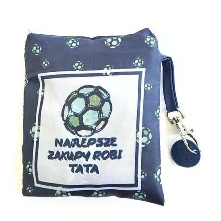 Torba zakupowa- Najlepsze zakupy robi Tata (piłka)