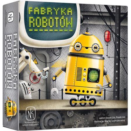Fabryka robotów. Gra planszowa