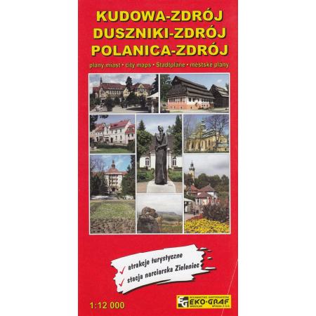 Kudowa Zdrój Duszniki Zdrój Polanica Zdrój Plany Miast 110 000
