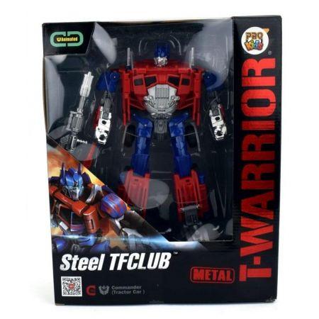 Robot T-Warrior metal czerwony