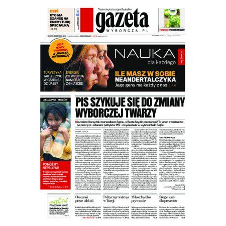 Gazeta Wyborcza - Warszawa 132/2015