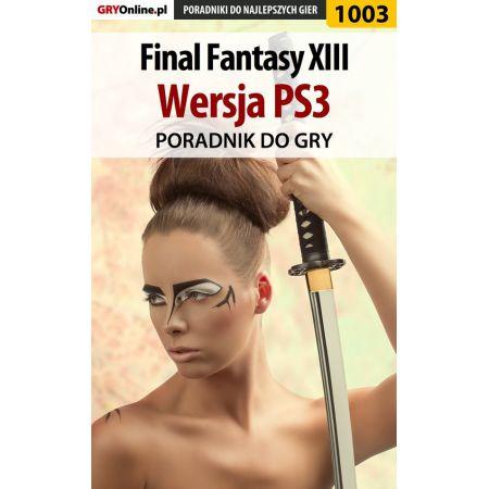 Final Fantasy XIII - PS3 - poradnik do gry