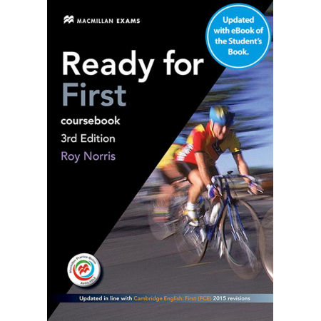 Ready for First 3rd ed. Coursebook + eBook