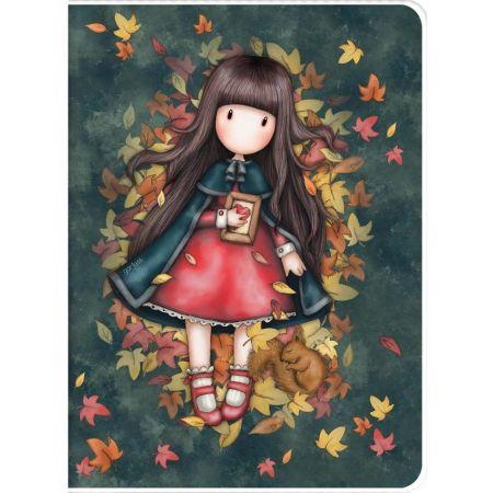 Zeszyt A4 w plastikowej okładce - Autumn Leaves