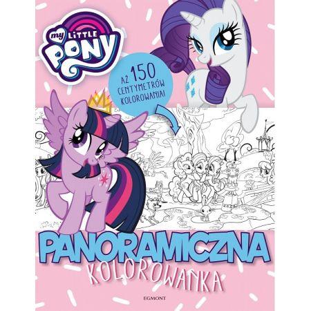 My Little Pony. Panoramiczna kolorowanka