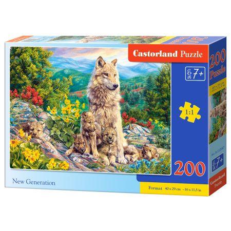 Puzzle 200 New Generation CASTOR