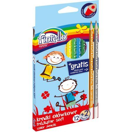 Kredki ołówkowe trójkątne Super Soft