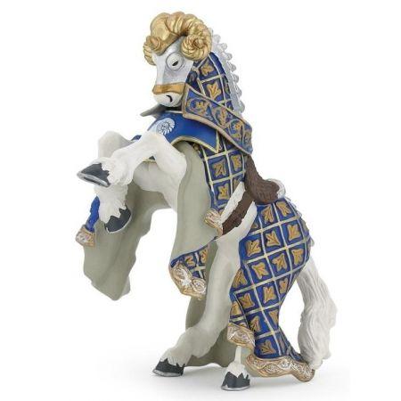 Koń Mistrza broni z baranim czubem