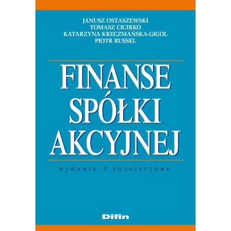 Finanse spółki akcyjnej