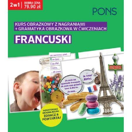 Kurs obrazkowy/gramatyka obrazkowa. Francuski 2w1