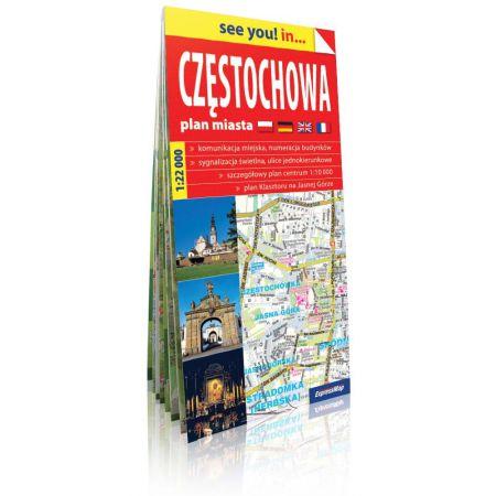 See you! in... Częstochowa - plan miasta 1:22 000